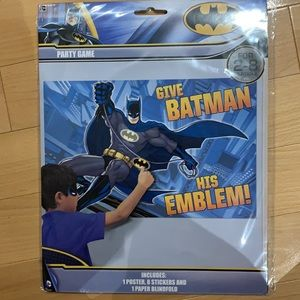FREE Pin the Tail Party Game Batman NWT